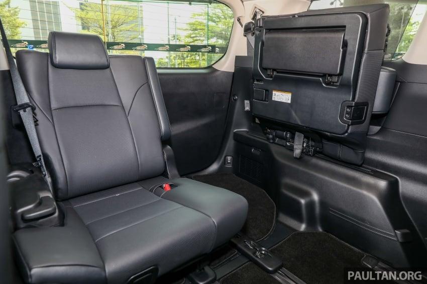 GALERI: Toyota Alphard, Vellfire facelift 2018 – senarai kelengkapan penuh, harga antara RM351k-RM541k Image #792783