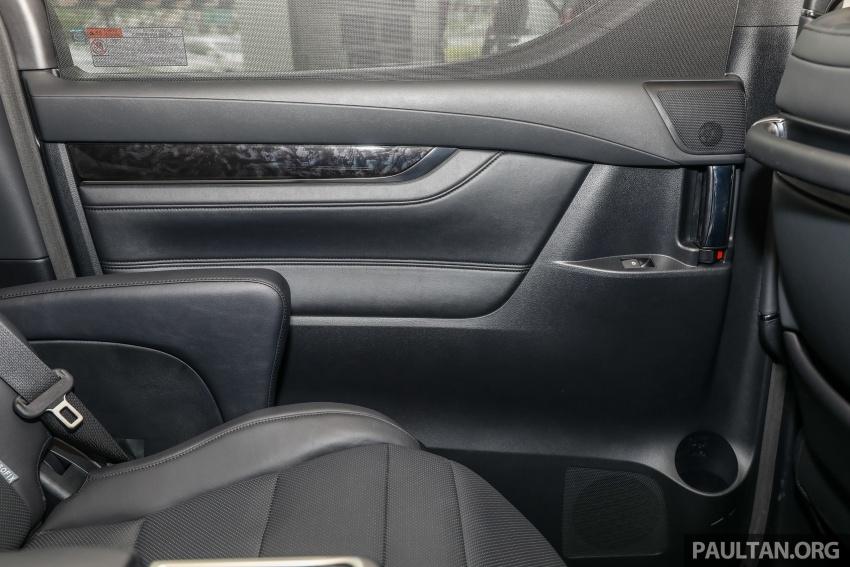GALLERY: Toyota Alphard, Vellfire facelift previewed – full specifications, equipment detailed, RM351k-541k Image #792935