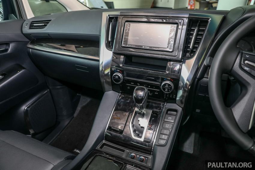 GALLERY: Toyota Alphard, Vellfire facelift previewed – full specifications, equipment detailed, RM351k-541k Image #792904