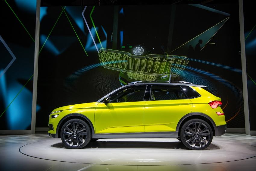 Skoda Vision X previews small SUV, CNG hybrid drive Image #788174