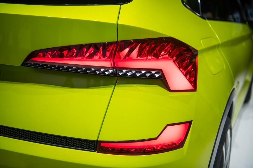 Skoda Vision X previews small SUV, CNG hybrid drive Image #788182