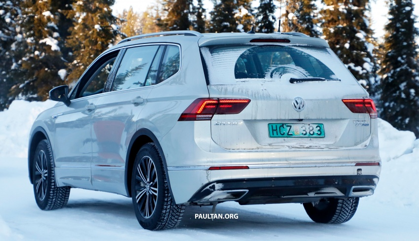 SPYSHOTS: Volkswagen Tiguan GTE on winter trials Image #785413