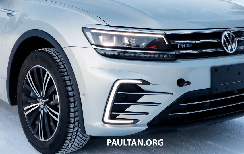SPYSHOTS: Volkswagen Tiguan GTE on winter trials Image #785417