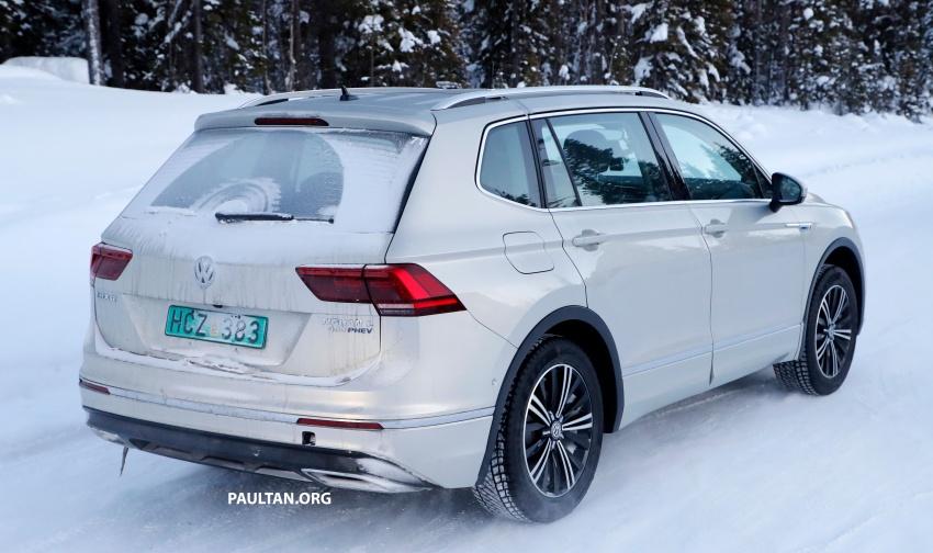 SPYSHOTS: Volkswagen Tiguan GTE on winter trials Image #785419