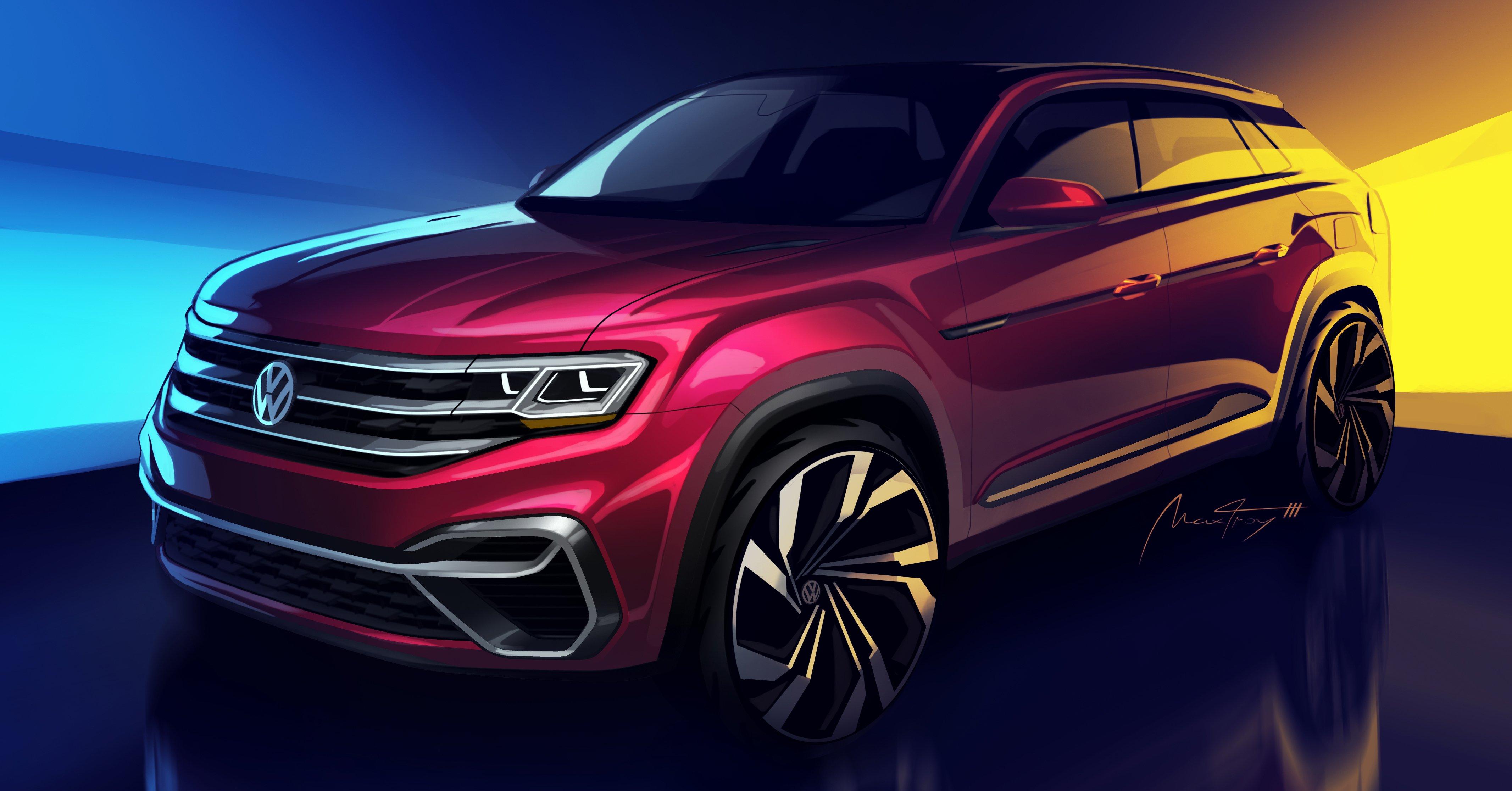 Volkswagen Atlas - five-seat version gets confirmed