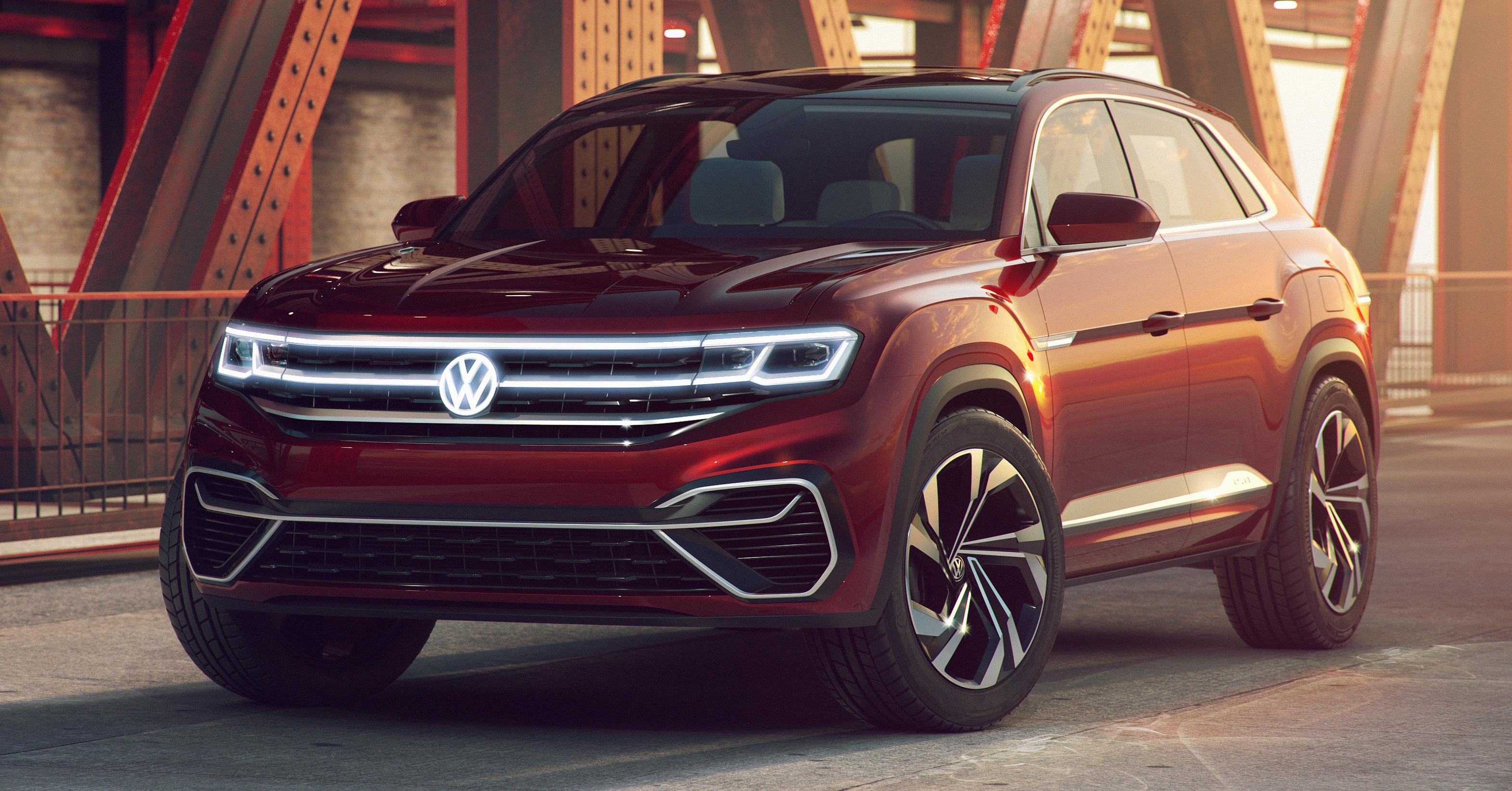 Volkswagen Atlas Cross Sport Concept debuts in NY