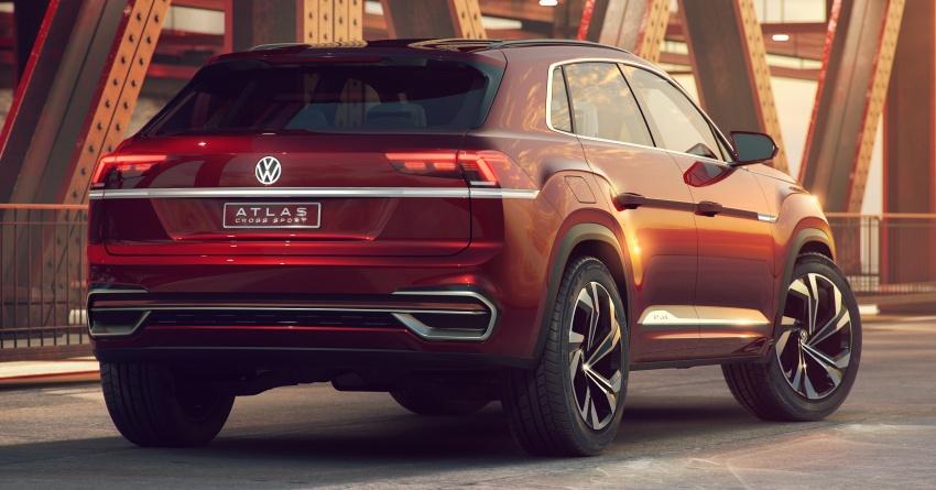 Volkswagen Atlas Cross Sport Concept debuts in NY Image #797496