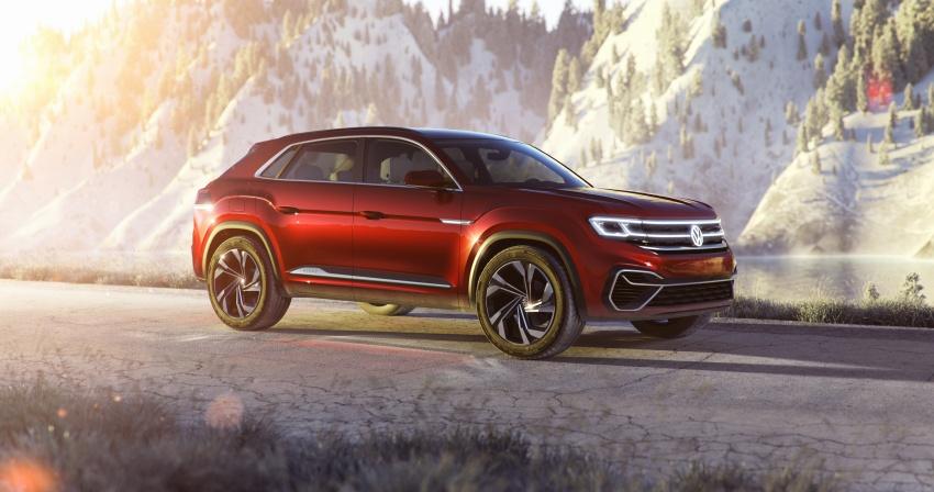 Volkswagen Atlas Cross Sport Concept debuts in NY Image #797498