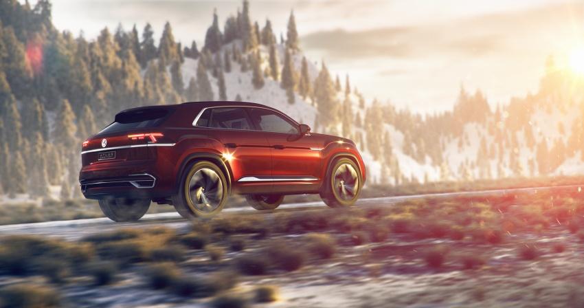 Volkswagen Atlas Cross Sport Concept debuts in NY Image #797499