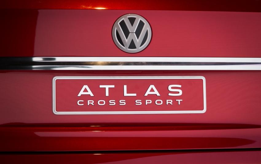 Volkswagen Atlas Cross Sport Concept debuts in NY Image #797502