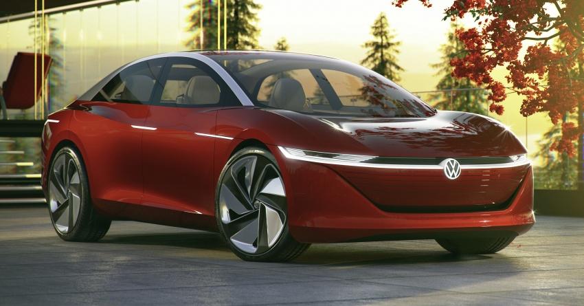 Volkswagen I.D. Vizzion – tiba di pasaran tahun 2022 Image #786997