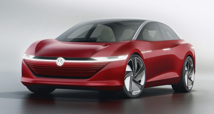 Volkswagen I.D. Vizzion – flagship to arrive by 2022 Image #786770