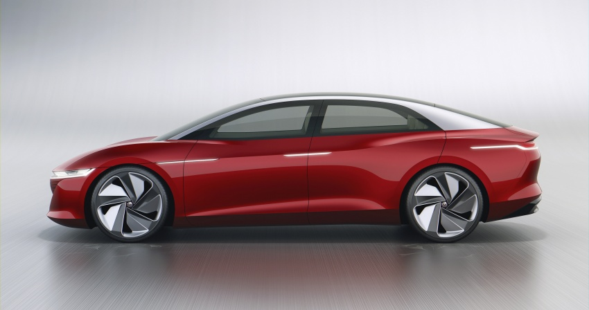 Volkswagen I.D. Vizzion – flagship to arrive by 2022 Image #786772