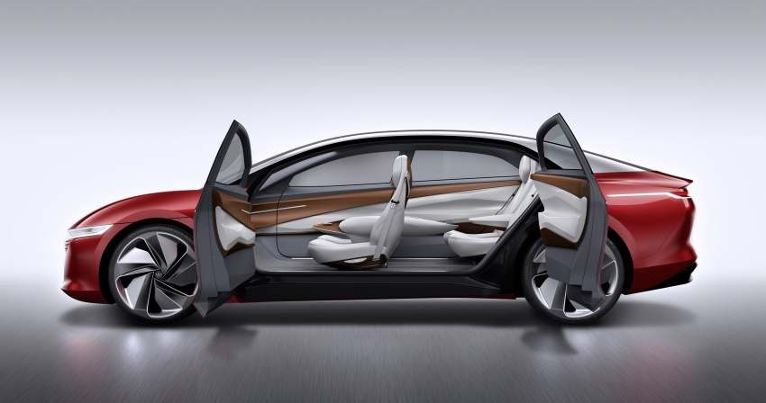 Volkswagen I.D. Vizzion – flagship to arrive by 2022 Image #786773
