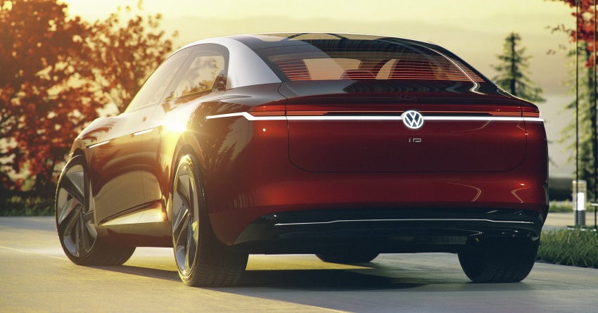 Volkswagen I.D. Vizzion – flagship to arrive by 2022 Image #786760