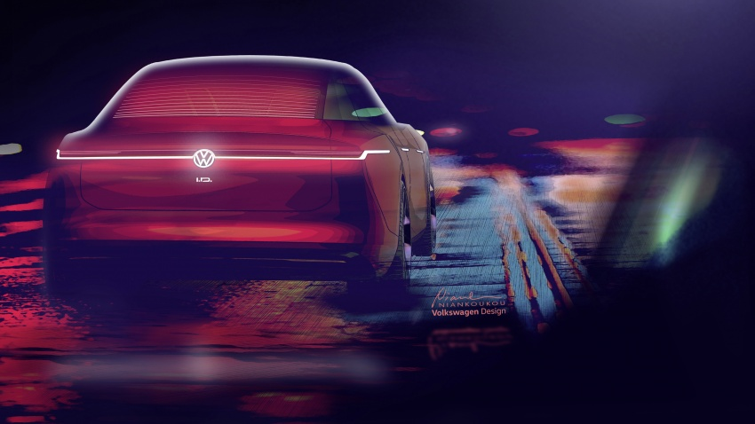 Volkswagen I.D. Vizzion – flagship to arrive by 2022 Image #786780
