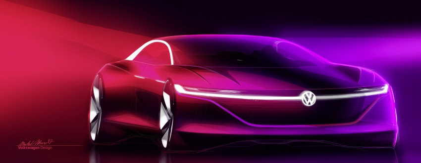 Volkswagen I.D. Vizzion – flagship to arrive by 2022 Image #786802