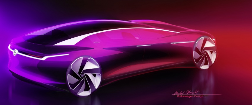 Volkswagen I.D. Vizzion – flagship to arrive by 2022 Image #786803