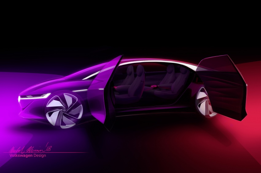 Volkswagen I.D. Vizzion – flagship to arrive by 2022 Image #786804
