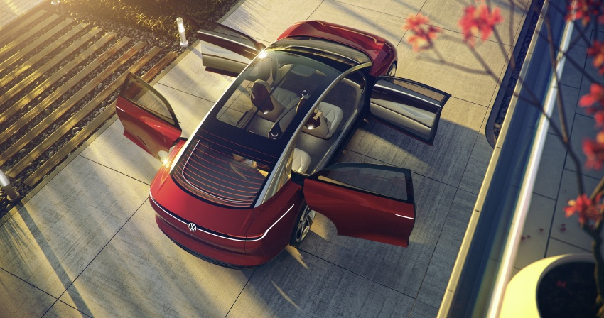 Volkswagen I.D. Vizzion – flagship to arrive by 2022 Image #786763