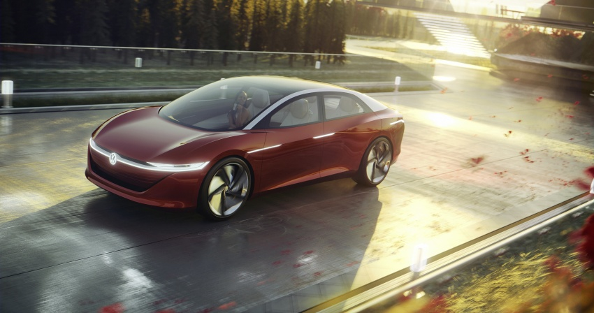 Volkswagen I.D. Vizzion – flagship to arrive by 2022 Image #786764