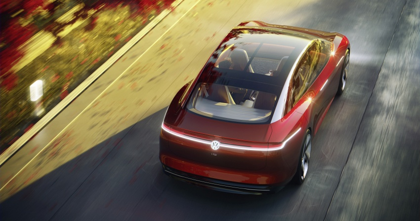 Volkswagen I.D. Vizzion – flagship to arrive by 2022 Image #786765