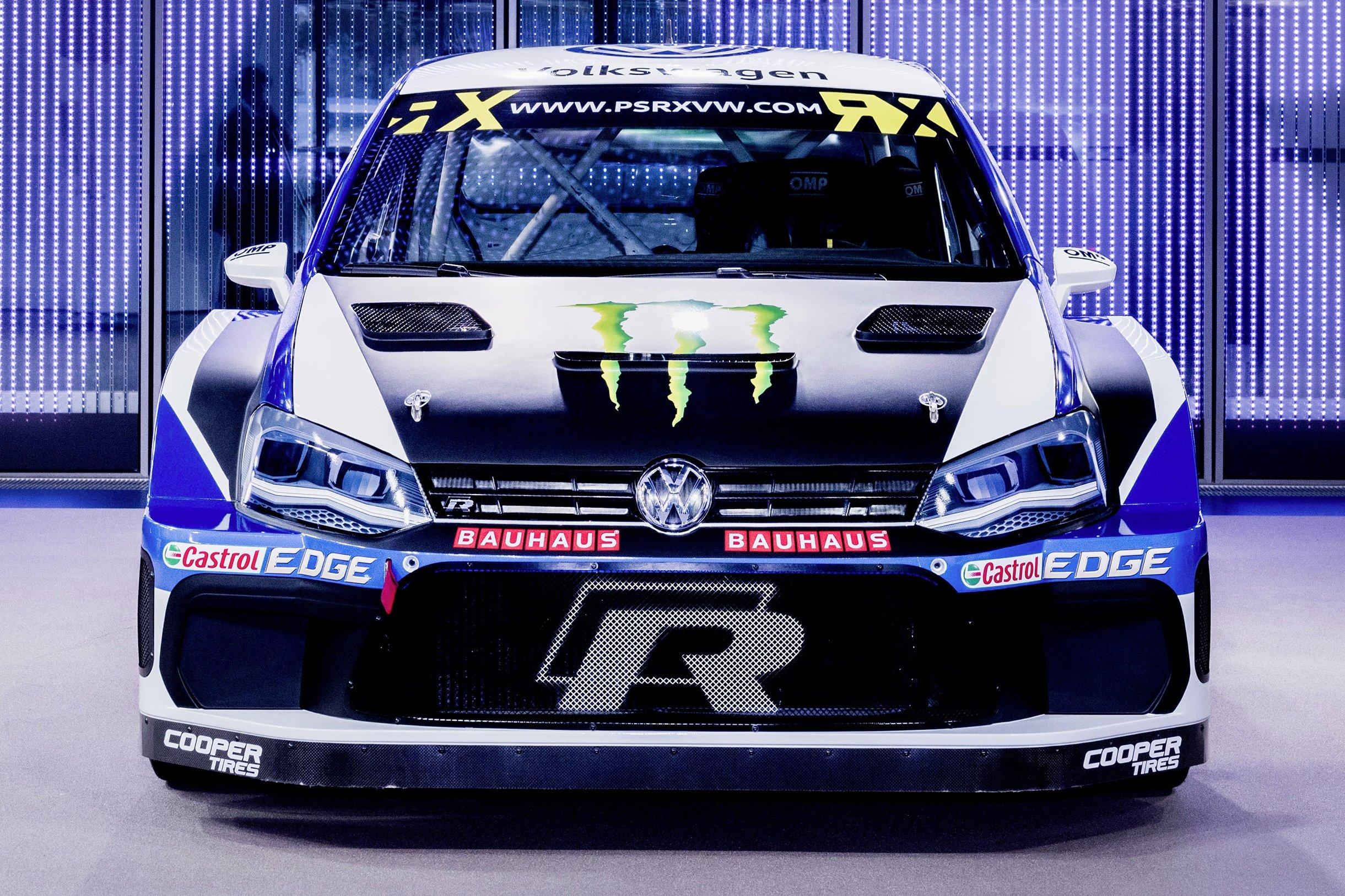 volkswagen polo r supercar 570 hp rallycross car. Black Bedroom Furniture Sets. Home Design Ideas