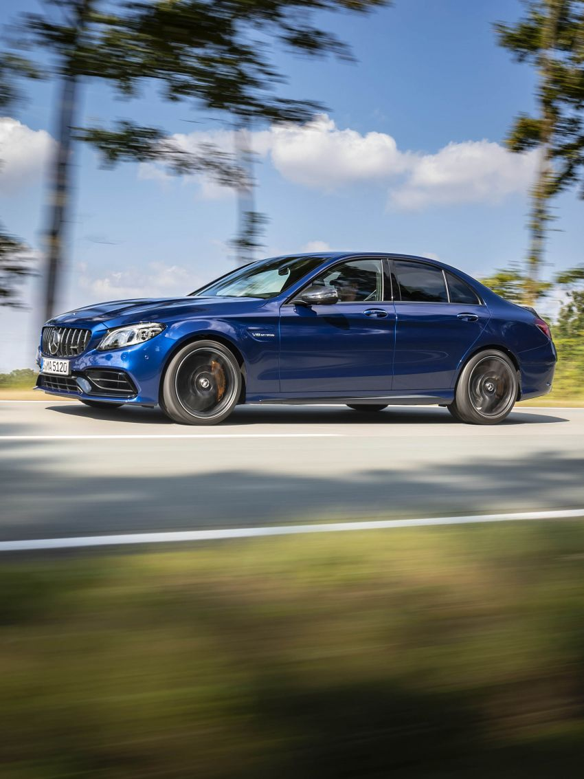 Mercedes-AMG C63 facelift debuts with new 9G auto Image #955943