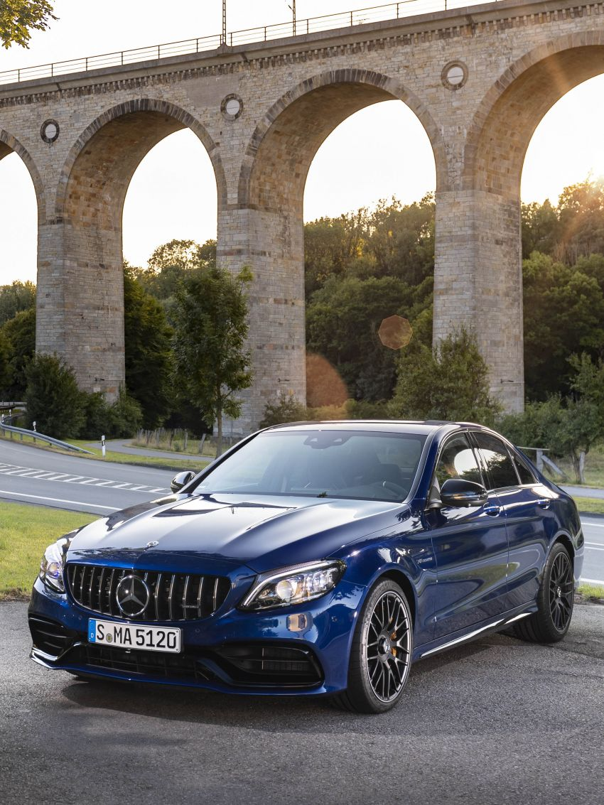 Mercedes-AMG C63 facelift debuts with new 9G auto Image #955945
