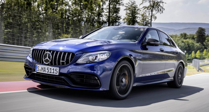 Mercedes-AMG C63 facelift debuts with new 9G auto Image #955948