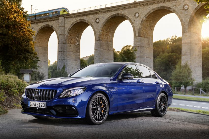 Mercedes-AMG C63 facelift debuts with new 9G auto Image #955936