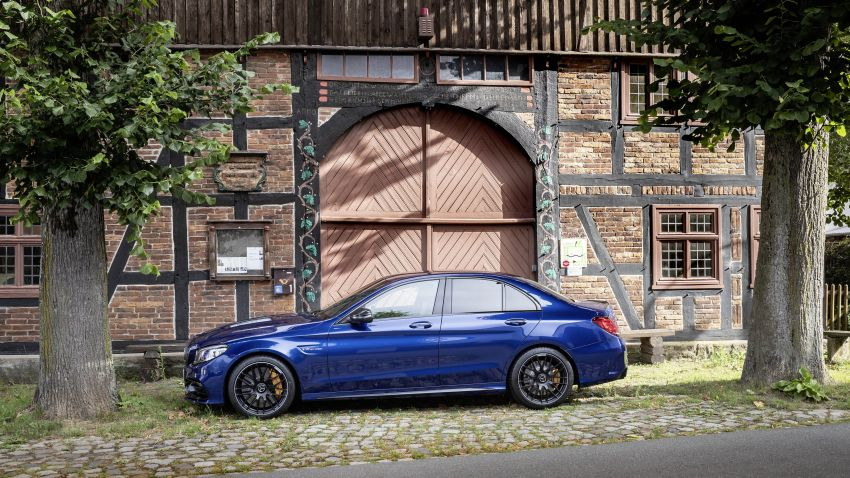 Mercedes-AMG C63 facelift debuts with new 9G auto Image #955937