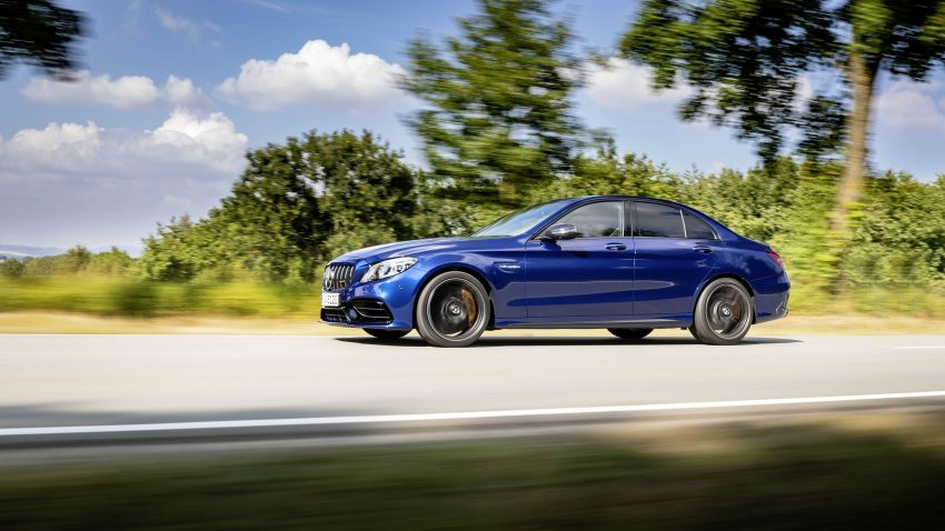 Mercedes-AMG C63 facelift debuts with new 9G auto Image #955939
