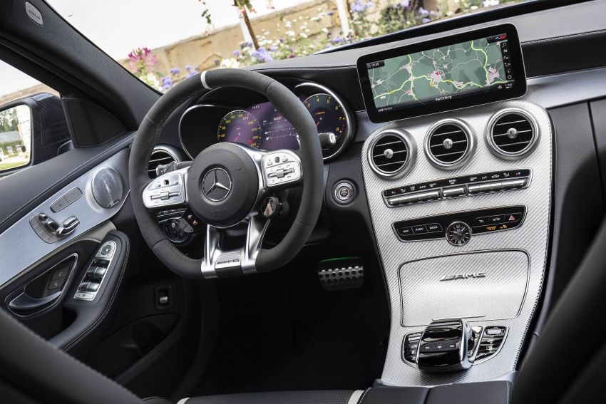 Mercedes-AMG C63 facelift debuts with new 9G auto Image #955941