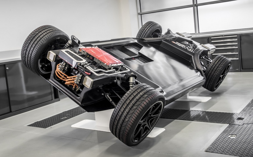 Williams FW-EVX – a new platform for electric vehicles Image #785836