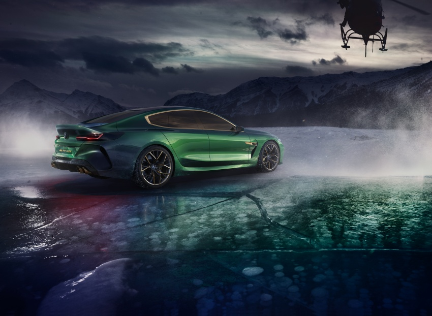 BMW Concept M8 Gran Coupe previews new four-door Image #787098