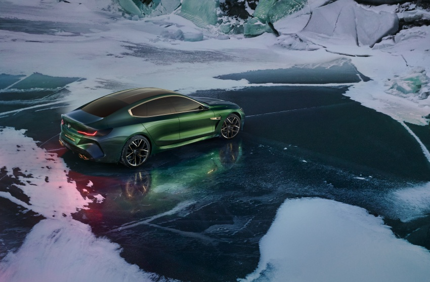 BMW Concept M8 Gran Coupe previews new four-door Image #787107