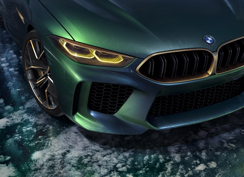 BMW Concept M8 Gran Coupe previews new four-door Image #787108