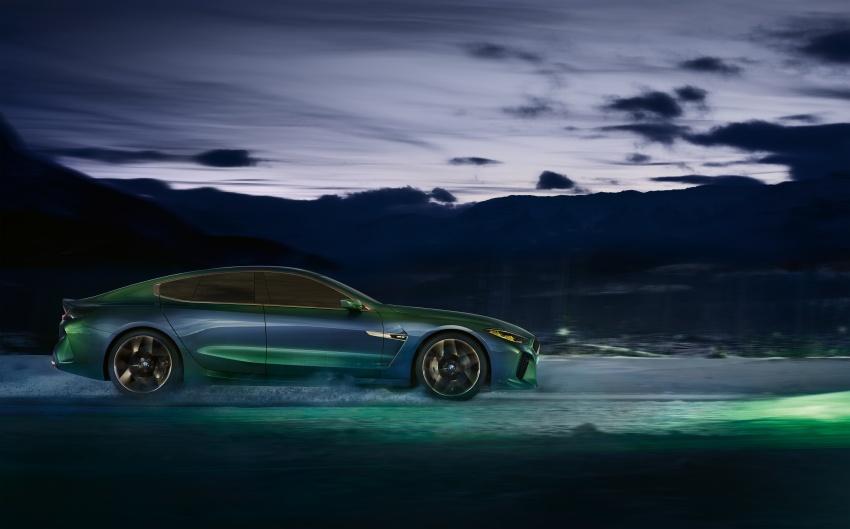 BMW Concept M8 Gran Coupe previews new four-door Image #787109