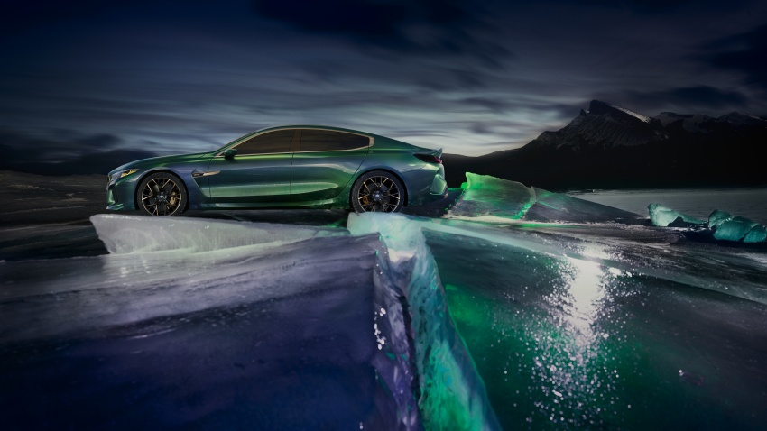 BMW Concept M8 Gran Coupe previews new four-door Image #787110
