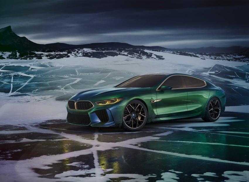 BMW Concept M8 Gran Coupe previews new four-door Image #787100