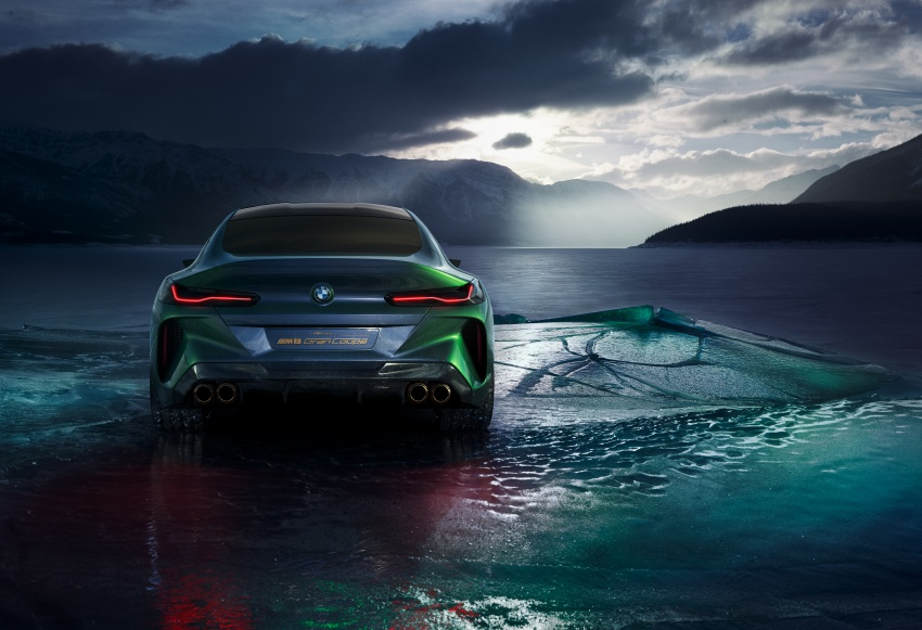 BMW Concept M8 Gran Coupe previews new four-door Image #787101