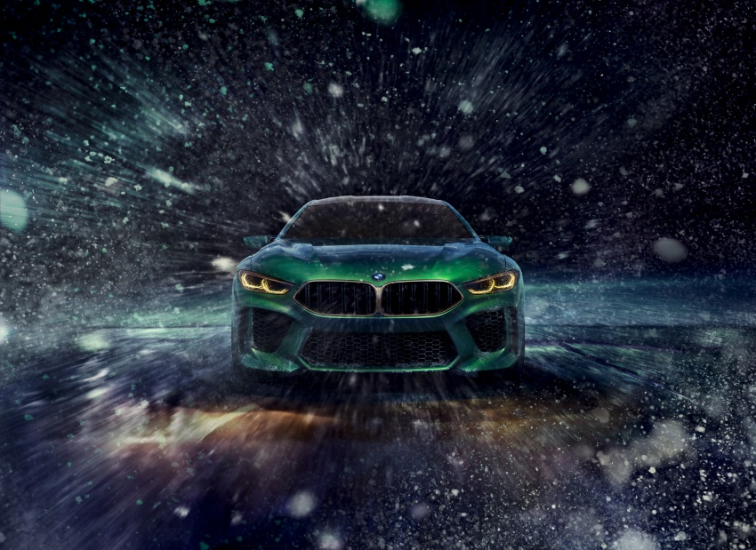 BMW Concept M8 Gran Coupe previews new four-door Image #787102