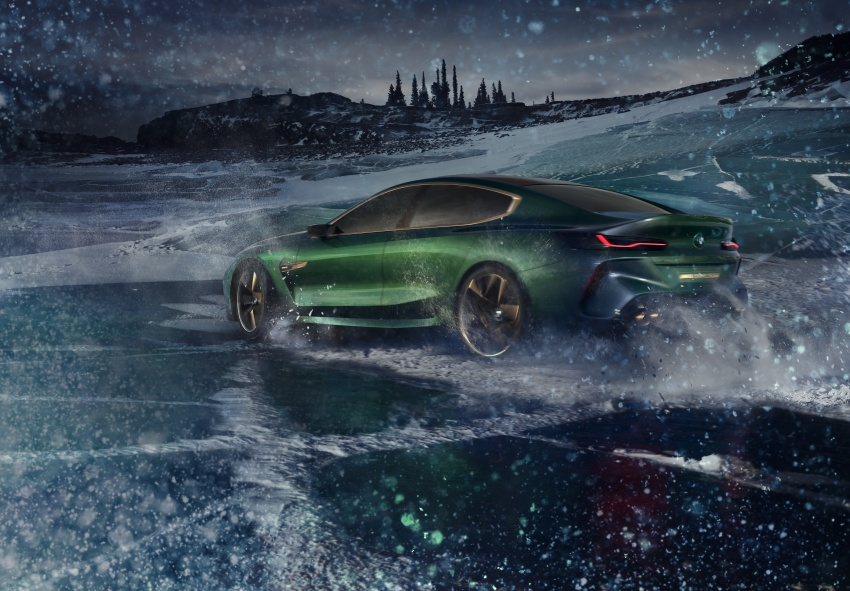 BMW Concept M8 Gran Coupe previews new four-door Image #787103