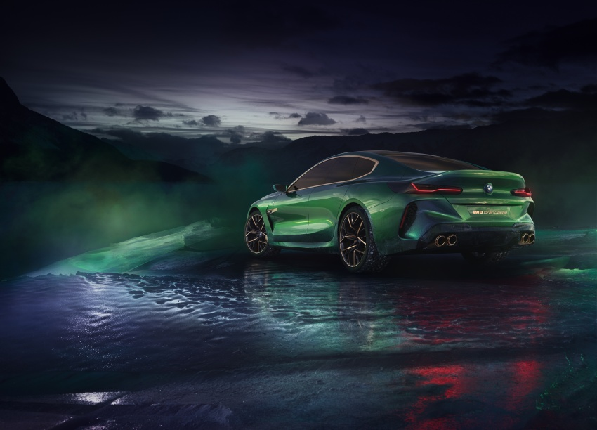 BMW Concept M8 Gran Coupe previews new four-door Image #787104