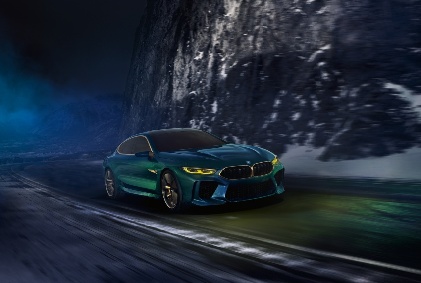 BMW Concept M8 Gran Coupe previews new four-door Image #787105