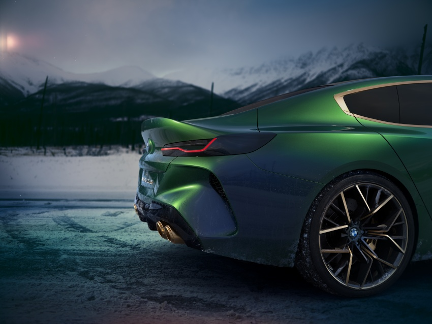 BMW Concept M8 Gran Coupe previews new four-door Image #787106
