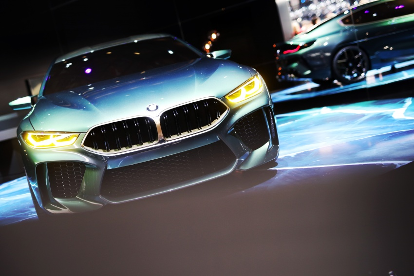 BMW Concept M8 Gran Coupe previews new four-door Image #787922