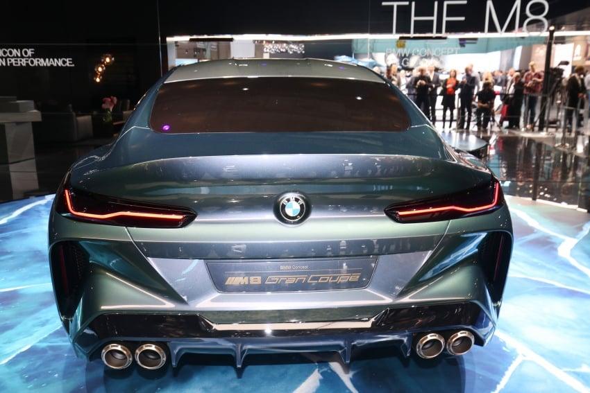 BMW Concept M8 Gran Coupe previews new four-door Image #787932