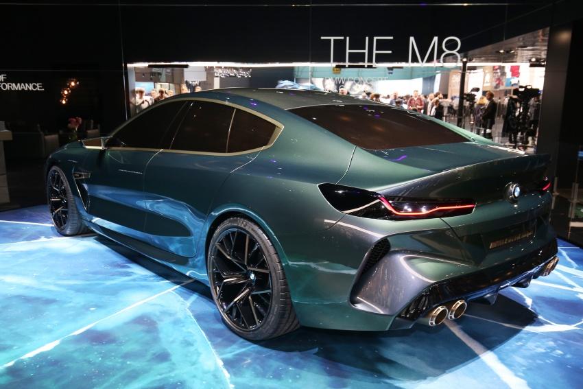 BMW Concept M8 Gran Coupe previews new four-door Image #787933